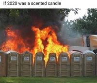 If 2020  was a scented candel