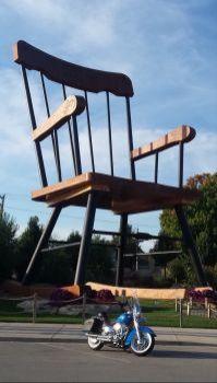 Worlds largest rocking chair
