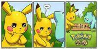 PikaChu and Bulbasaur - Pokemon Go