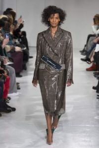 Liya Kebede in Calvin Klein