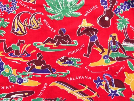 Who made the first iconic Hawaiian shirt?