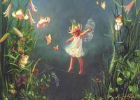 Little fairy tight rope walker