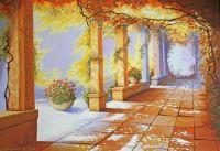 Autumn Pergola (Painting)