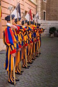 Swiss Guard Halberd Formation