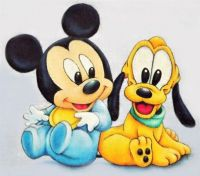 For The Children Series #307 - Mickey & Pluto