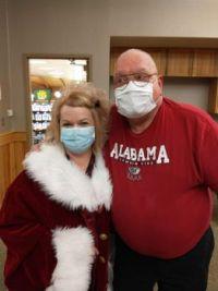 Mrs. Santa & I