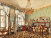Drawing Room at Rasumofsky Palace on Landstrasse in Vienna