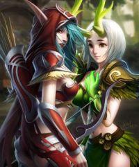 shawn-fox fantasy warcraft elves