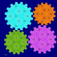 Colorful Gears #1