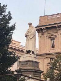 Leonardo da Vinci, Milan
