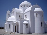 Church on island of Paros, Greece