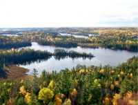 View from Temagami Tower
