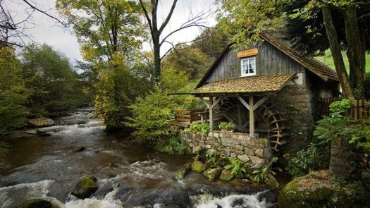 Picturesque watermill