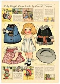 Paper Doll ~ Dolly Dingle's Cousin Lucile