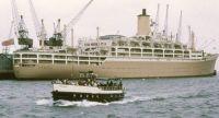 ORSOVA at Southampton 1950s