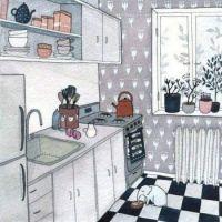 """Inside Kitchen Cottage"""