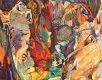 Cheakamus canyon by Frederick Varley