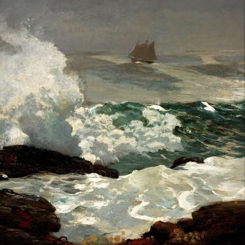 Winslow Homer On a Lee Shore