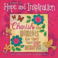 2016 Wall Calendar Hope and Inspiration
