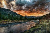 yellowstone-river-sunset-donna-caplinger
