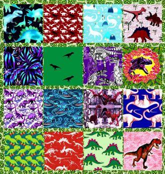 Rawr Dinosaurs Collage Challenge