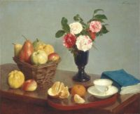 Still Life with Flowers and Fruits - Zátiší s květinami a ovocem