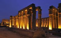 Luxor Temple by night, Egypt.......