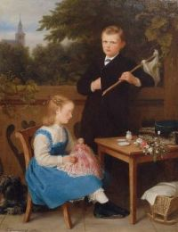 "Siblings (""After the truce"")–1870"