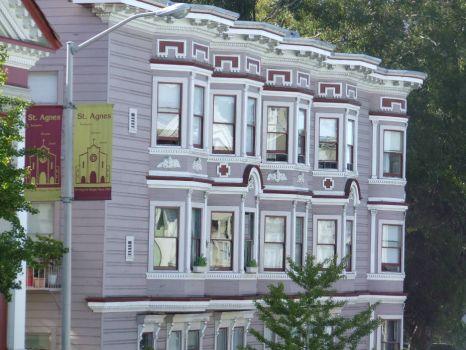 San Fransisco! Painted Ladies! Apartment Building