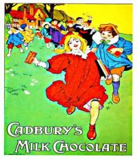 Vintage ad - Cadbury's Milk Chocolate