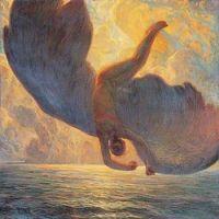 Galileo Chini  Icarus 1907