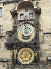 Prague Orloj or Astronomical Clock