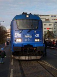 Vlak Kometa - Brno 22.12.2017