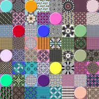 Potpourri298 -Patterns and Circles - Jumbo - rj