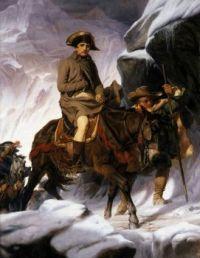 Napoléon Crossing the Alps - Paul Delaroche