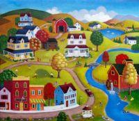 Beautiful Country Village