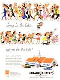 Themes Vintage ads - Howard Johnson`s Ice Cream shops and restaurants