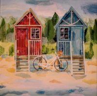 Two Beach Huts and a Bike : 196