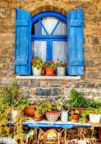Themes: Blue Shutters