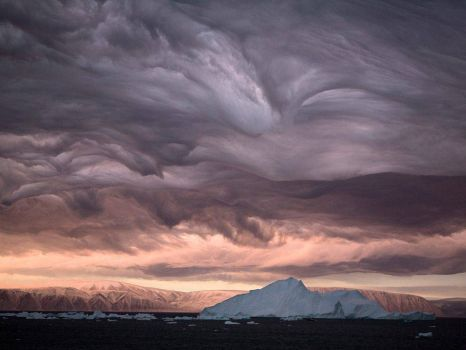 Clouds Greenland