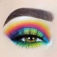 1  ~  'Rainbow Eye Art'