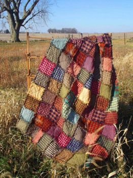 Patchwork Quilt from Country Corner