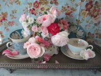 Pink & White Rose Tea