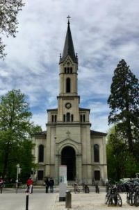 Church in Constance Germany