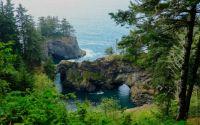 Natural Bridges, Oregon Coast, US