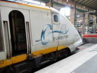Rather unkempt Eurostar at St. Pancras