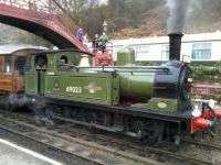 "J72 ""JOEM"" at Goathland"
