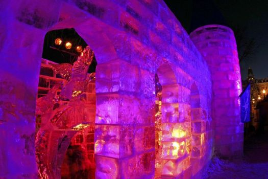 THEME - Quebec's Ice Palace