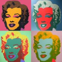 Pop art by Andy Warhole