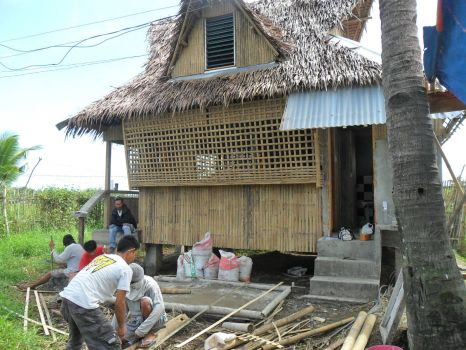 House building in the Philippines